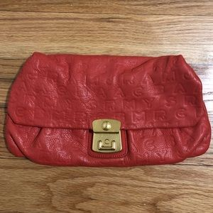 Marc by Marc Jacobs Coral Leather Clutch